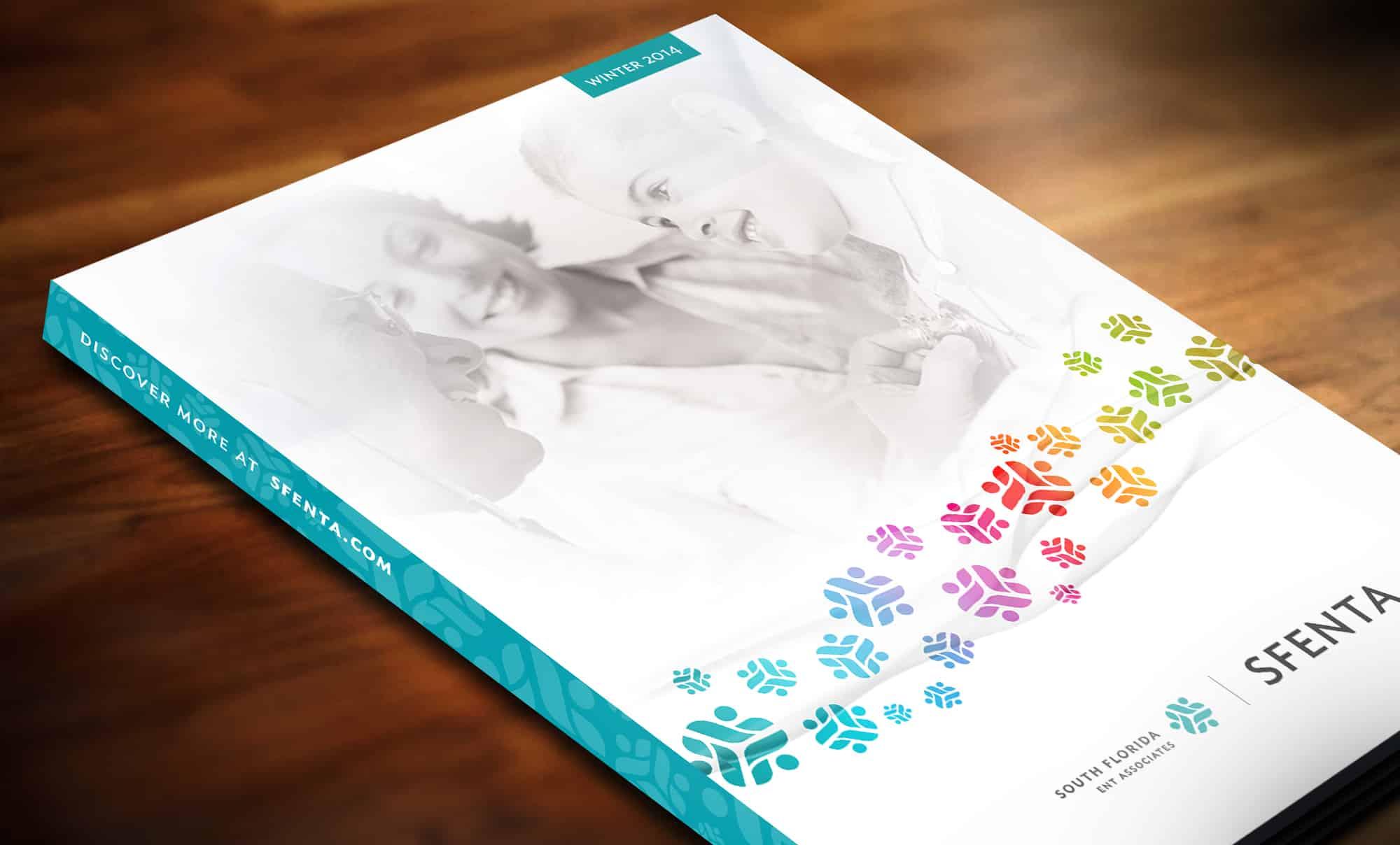 Magazine and advertising design: SFENTA