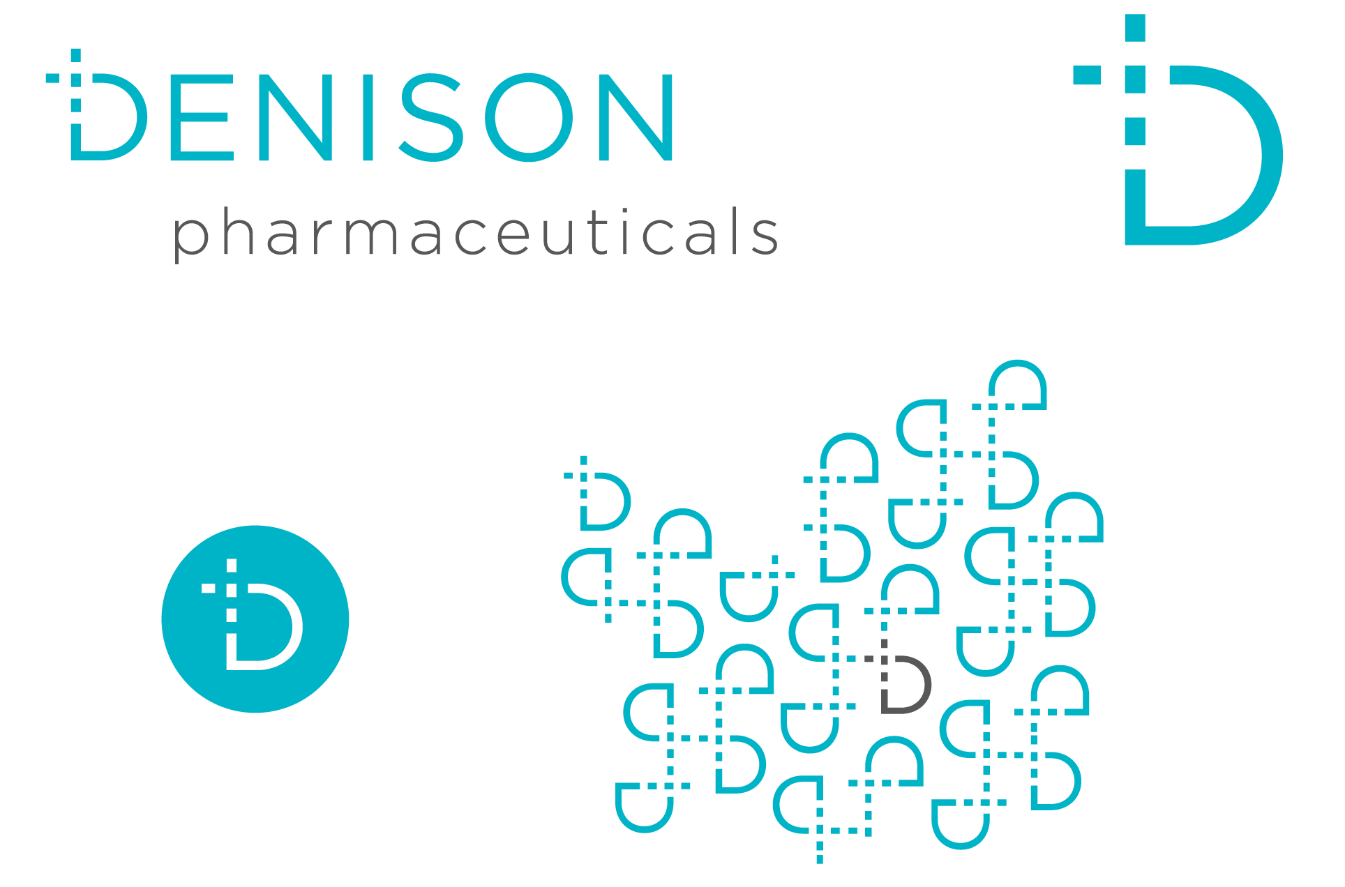 brand identity and logo design: Denison Pharmaceuticals