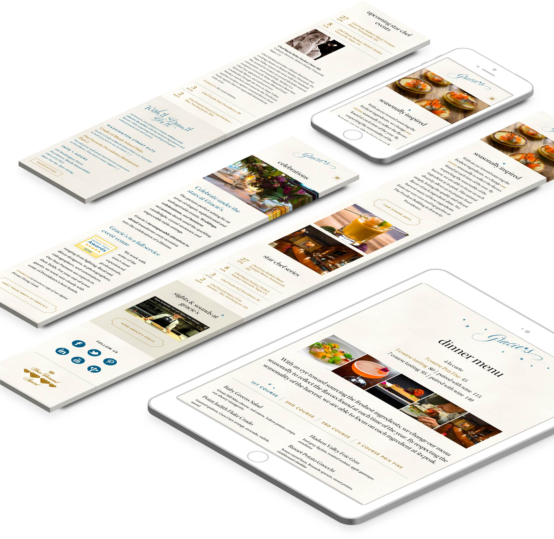 phone and tablet responsive web design