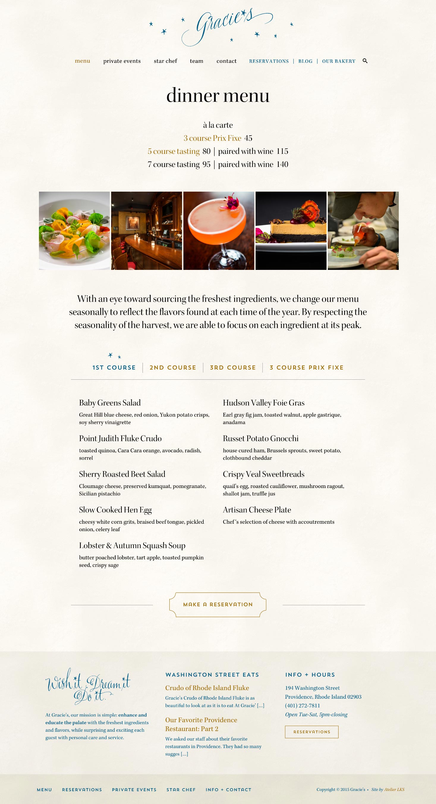 custom website design for restaurants