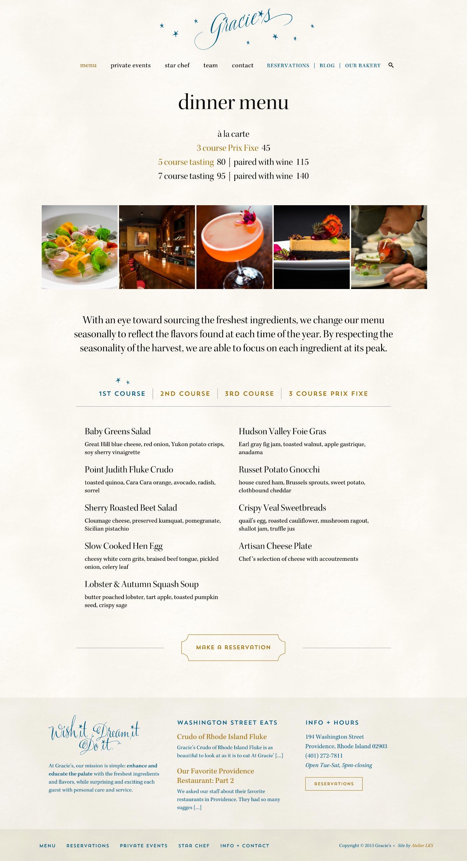 custom website design for restaurants
