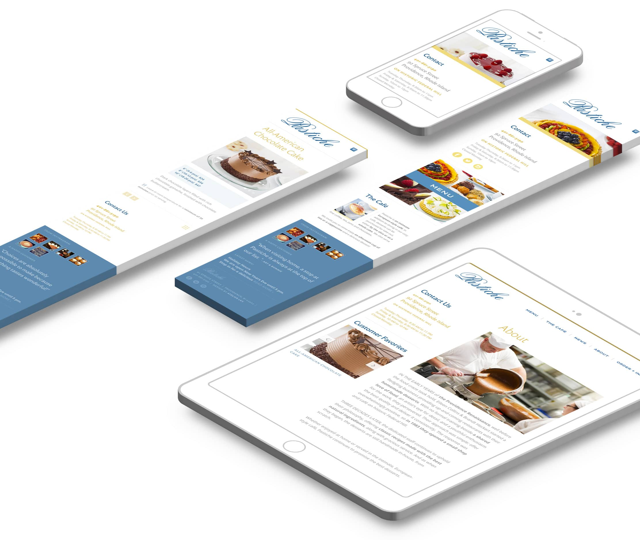mobile responsive web design for phones and tablets
