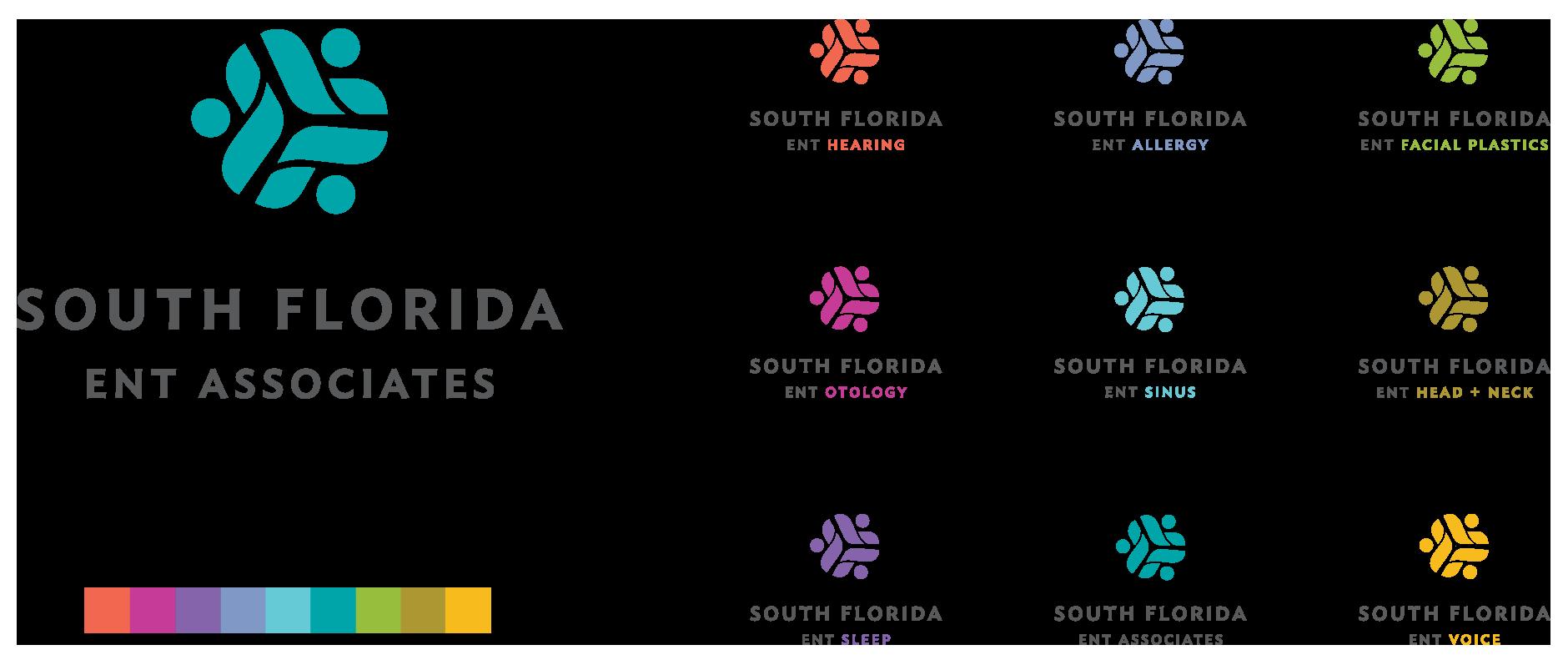 branding and logo design: South Florida ENT Associates