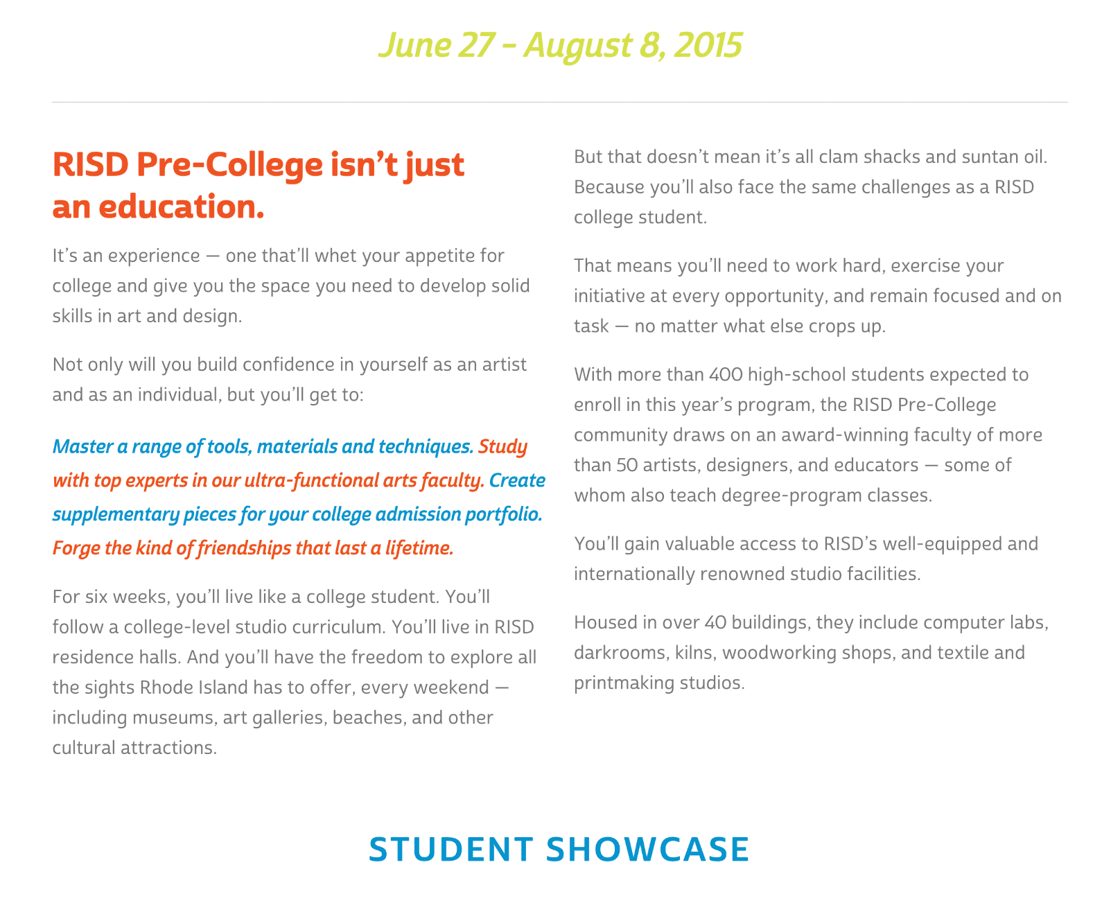 responsive web design and development for RISD in Providence, Rhode Island (RI)