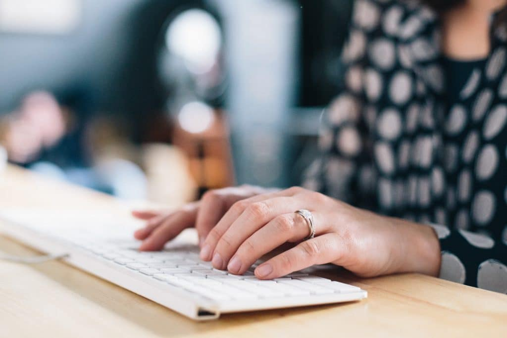 Writing blog content: identify topics your customer is interested in; use a keyword research tool