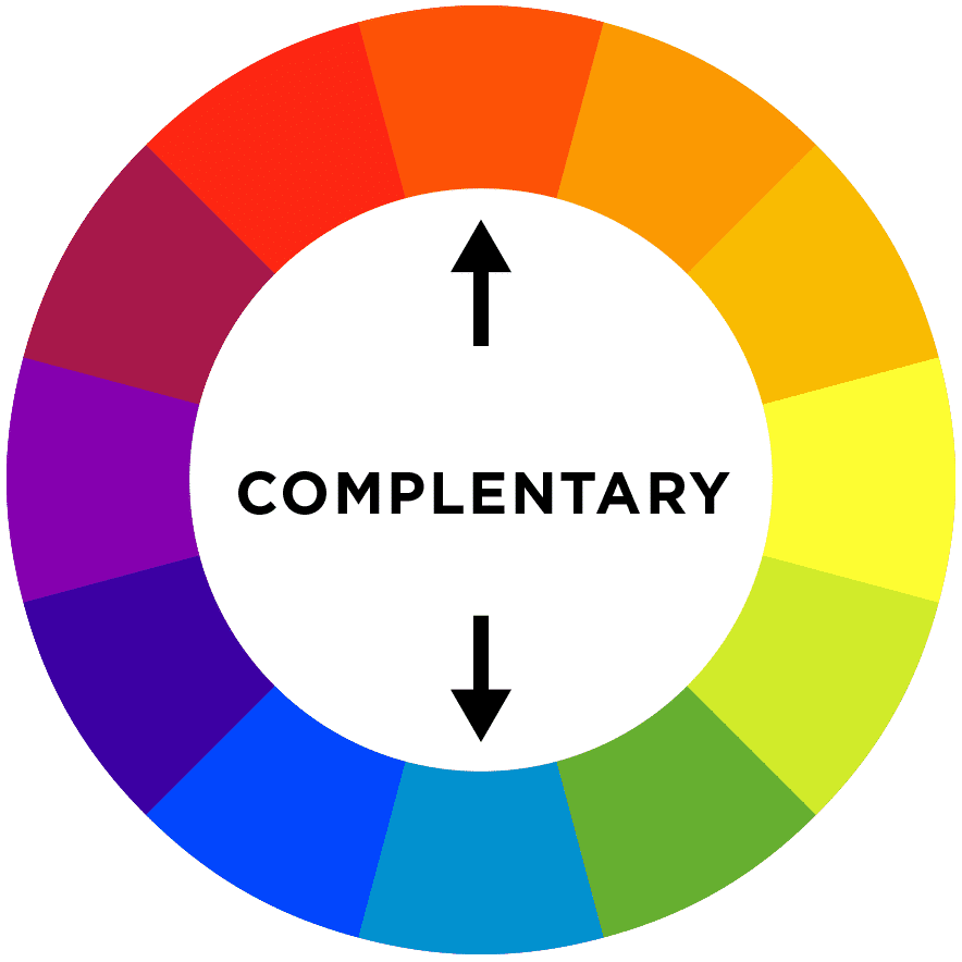 Colorwheel: complementary