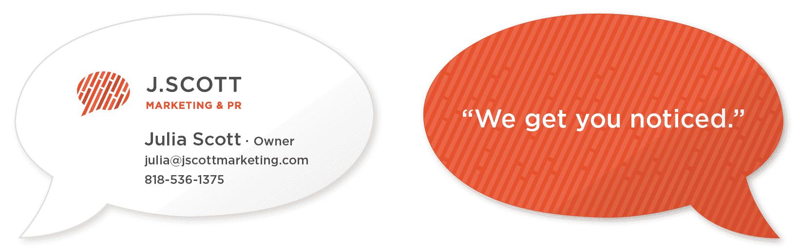 JScott business card design
