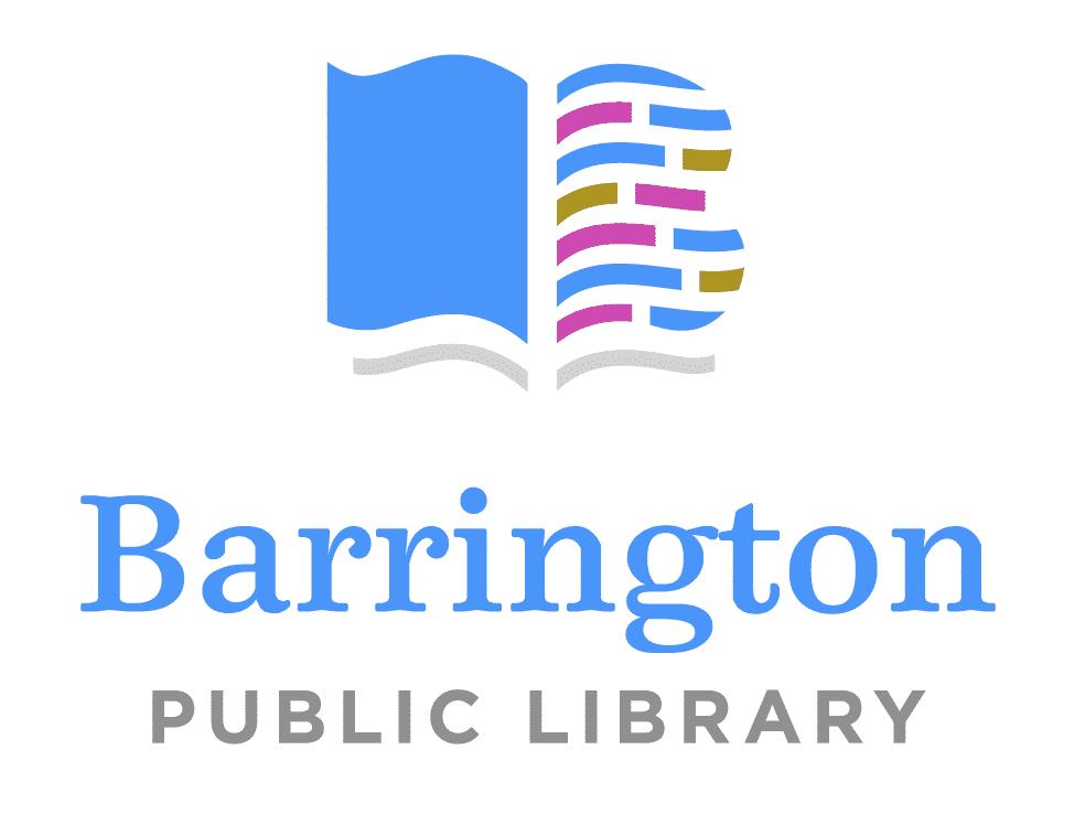 Serif font example: Barrington Public Library logo