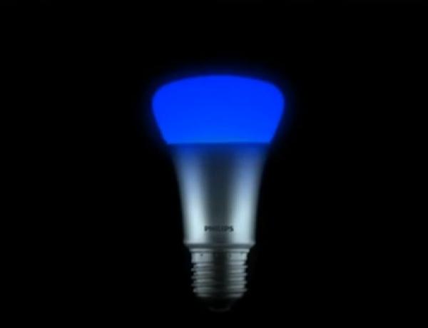 The 'World's Smartest Lightbulb' Illuminates In 16 Million Colors