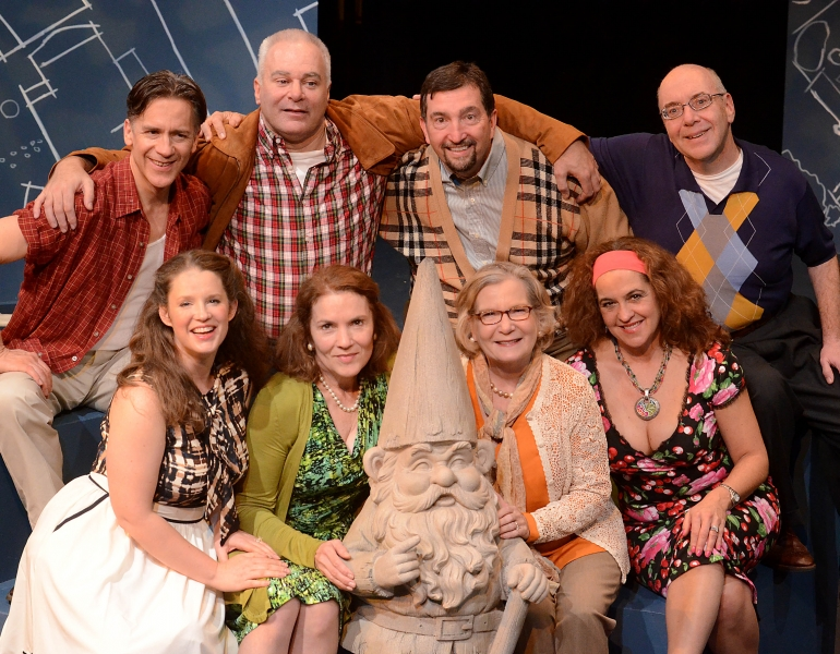 The cast of 'Neighborhood Watch' at 2nd Story Theatre