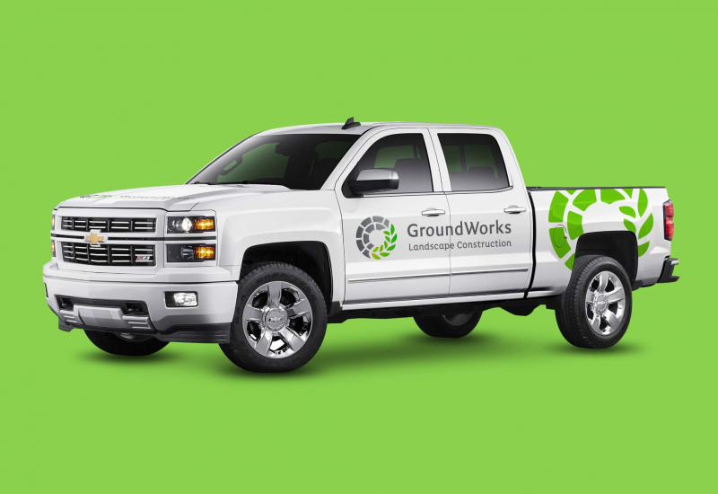 Groundworks Construction truck
