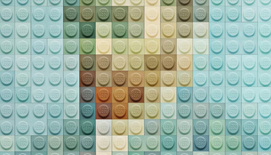 iconic art + lego