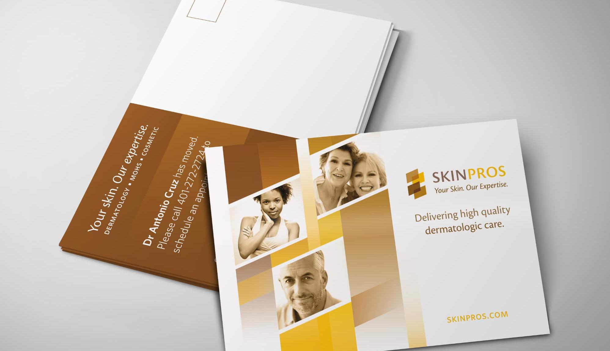 posctard and brochure design