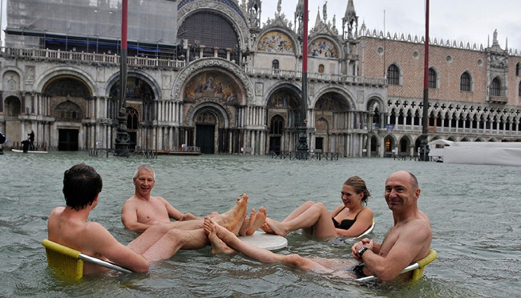 Venice hit by floods – in pictures